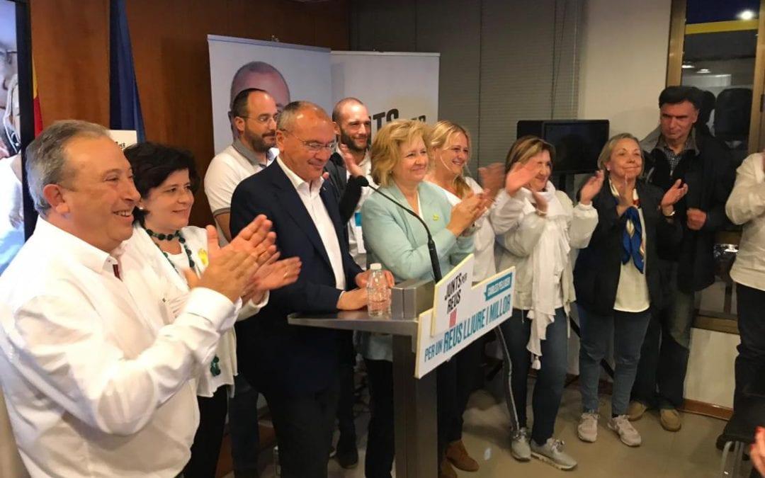 🔊 Junts per Reus guanya les municipals i augmenta en nombre de vots