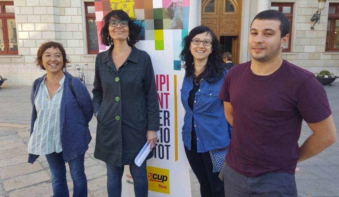 🔊 La CUP de Reus li demana a Esquerra que no faci alcalde Carles Pellicer
