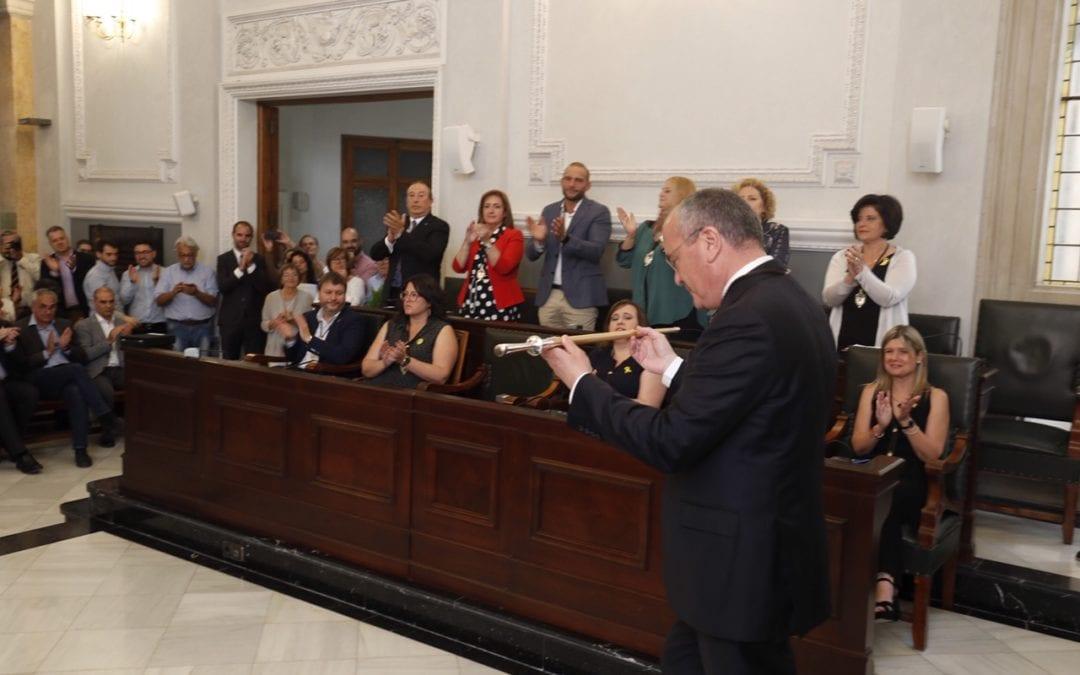 Carles Pellicer és alcalde de Reus per tercer mandat consecutiu