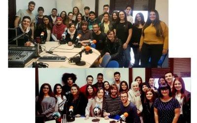 Alumnes de l'Institut Baix Camp enregistren dos programes a LANOVA Ràdio en el marc del pla Innova FP