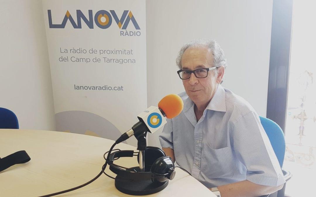 """🔊 Francesc Salas: """"Vam decidir portar la Flama del Canigó per Sant Joan com una reivindicació"""""""