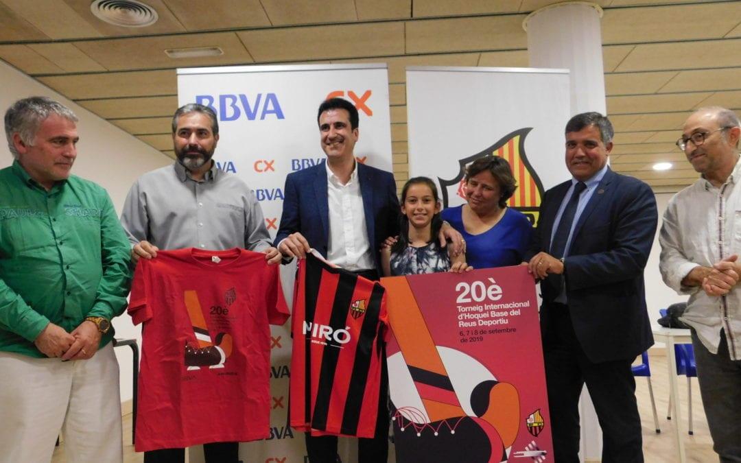 🔊  El Reus Deportiu presenta el cartell del 20è Torneig Internacional Base d'hoquei