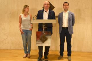 Es reedita el pacte Junts per Reus – ERC – Ara Reus i es presenta el cartipàs