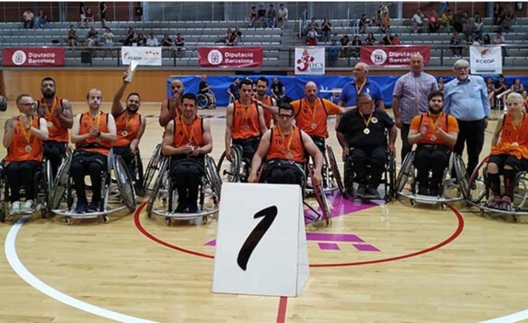 🔊 El CE Costa Daurada, campió de la Copa Catalunya de bàsquet en cadira de rodes