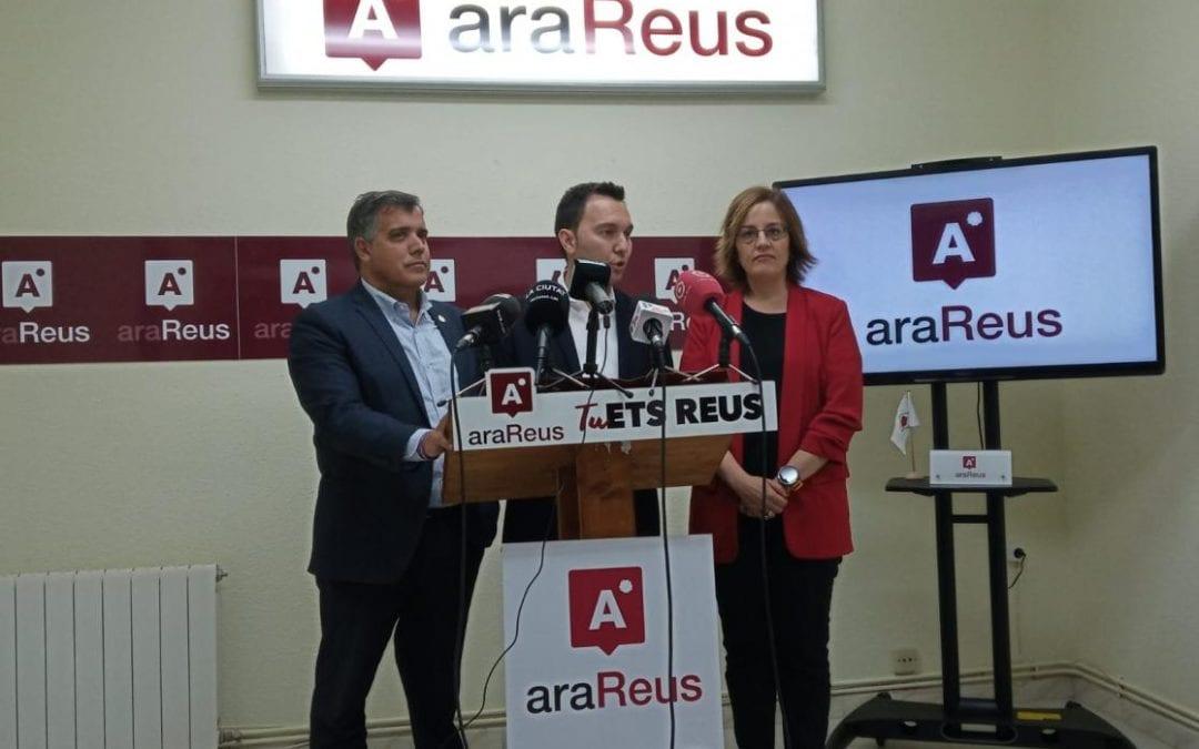 🔊 Ara Reus demana a ERC i PSC que apostin per 'l'estabilitat' i que no pactin amb la CUP