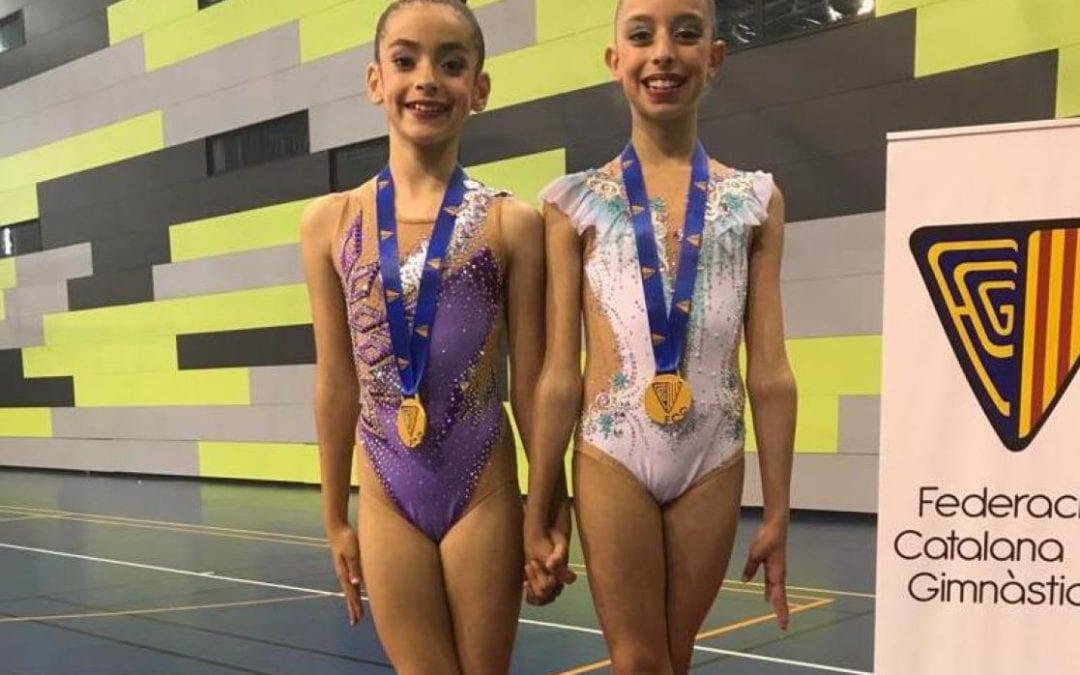 🔊 El Pare Manyanet presenta un duet en el campionat estatal de gimnàstica rítmica de Saragossa