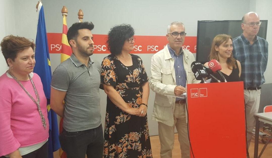 🔊 El PSC de Reus descarta un pacte d'esquerres un dia abans del ple d'investidura