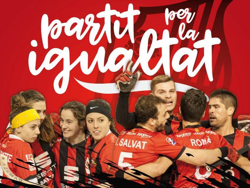 🔊  El Reus Deportiu celebrarà la segona edició del 'partit per la igualtat' d'hoquei sobre patins