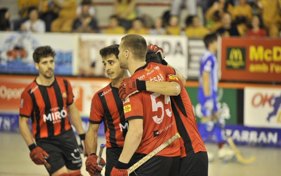 🔊 El Reus Deportiu Miró es desfà del Voltregà i acaba tercer a l'OK Lliga (2-1)