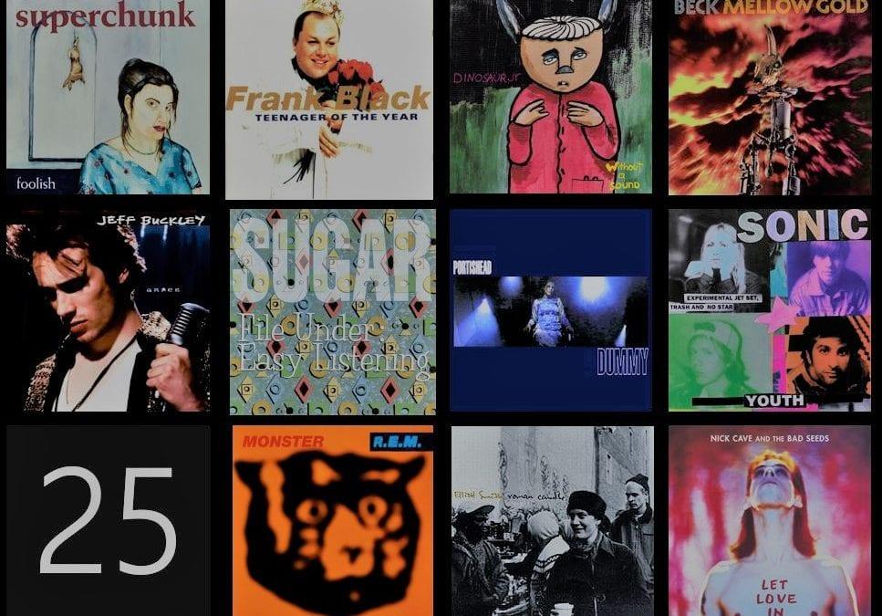 """🔊 """"Toc de Queda"""": 'Àlbums que fan 25 anys. 02'"""
