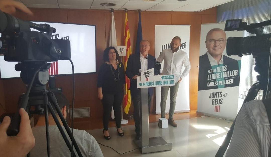 🔊 Pellicer (Junts per Reus) insisteix per revalidar pacte amb ERC i Ara Reus, però obre les portes a la CUP i el PSC