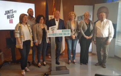 Junts per Reus i Esquerra acorden investir alcalde Carles Pellicer