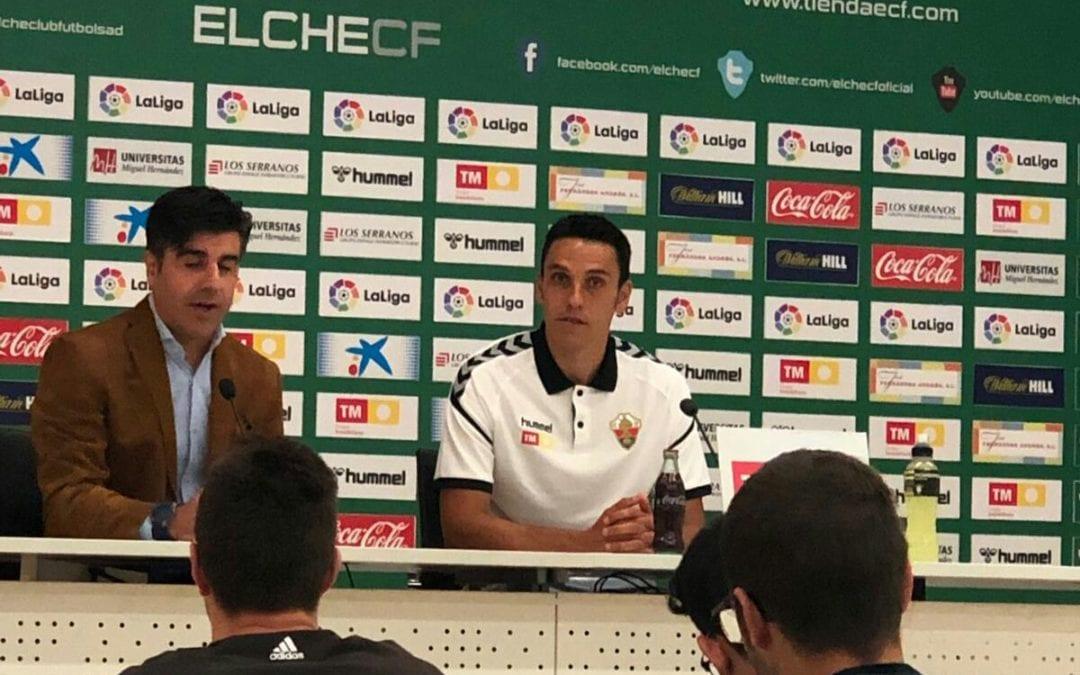 """🔊 Ramon Folch: """"Estic molt il·lusionat d'estar en un gran club com l'Elx"""""""