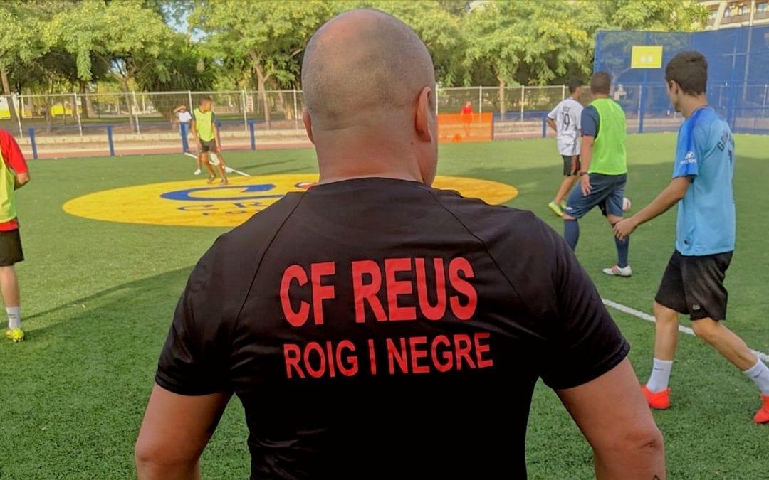 🔊 El CF Reus roig-i-negre comença entrenaments i s'inscriu en una nova lliga de futbol 7 reusenca