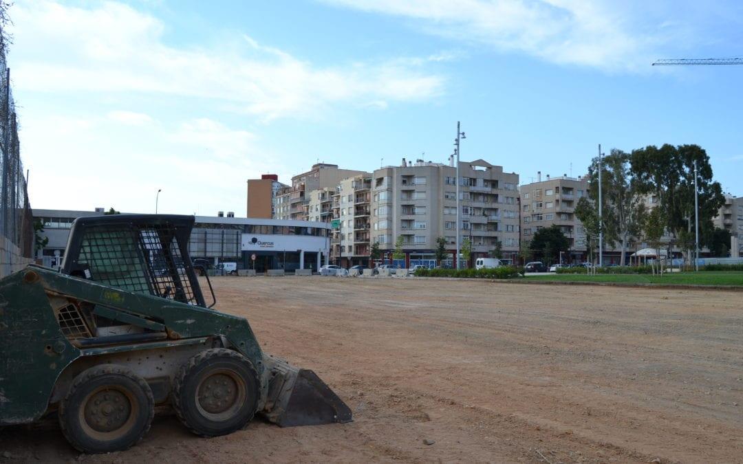 🔊 S'inicien les obres del nou pavelló polilleuger de l'Escola Joan Rebull de Reus
