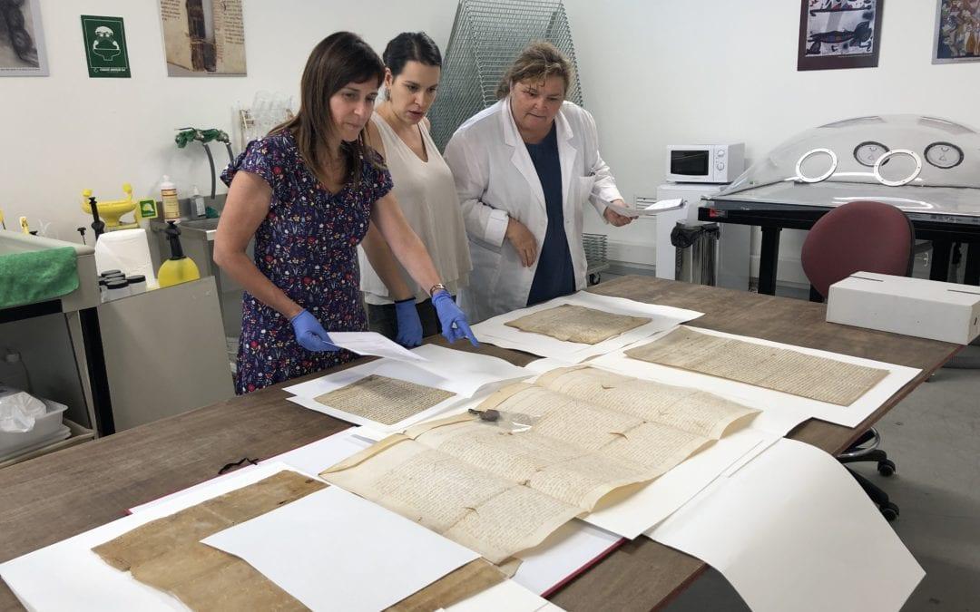 🔊 L'Ajuntament de Reus restaura catorze pergamins d'entre els segles XII i XVIII