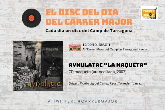 "🔊 El disc del dia del Carrer Major. 01: Aynulatac ""La maqueta"" (2002)"