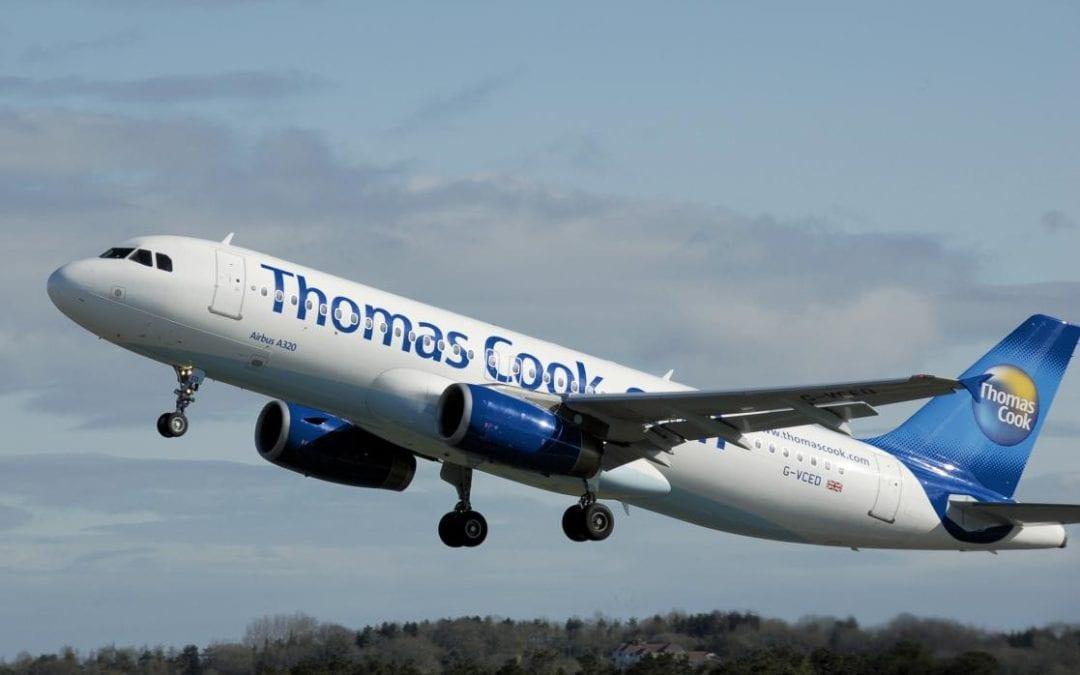 🔊 La fallida de Thomas Cook cancel·la 28 vols de l'Aeroport de Reus