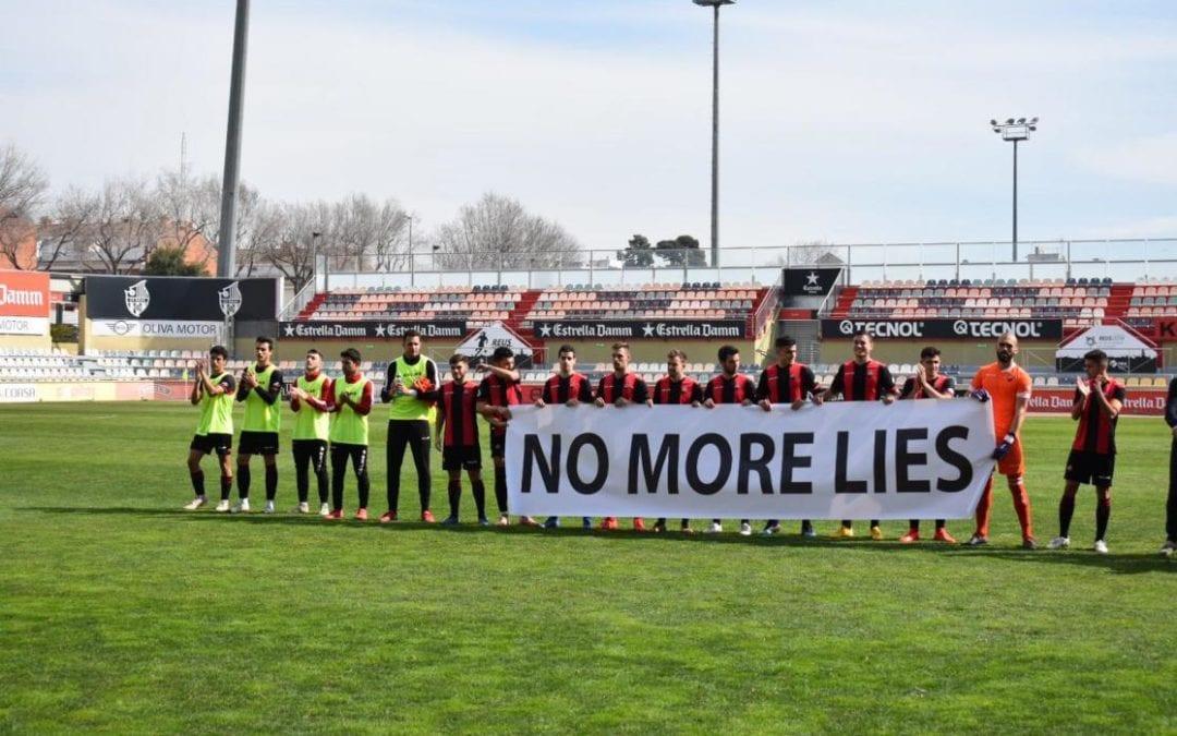 La FCF exclou el Reus B de Primera catalana