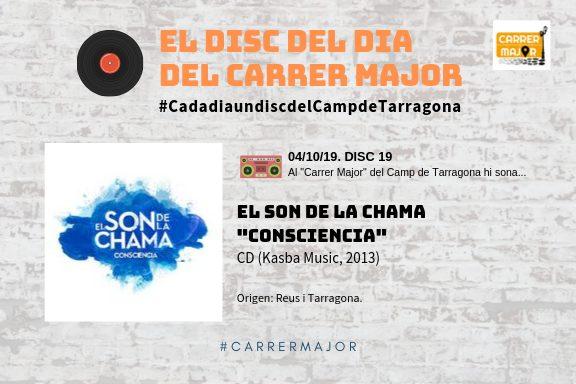 """🔊 El disc del dia del Carrer Major. 19: El Son de la Chama """"Consciencia"""" (2013)"""