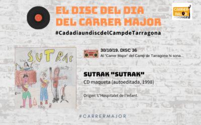 """🔊 El disc del dia del Carrer Major. 36: Sutrak """"Sutrak"""" (1998)"""