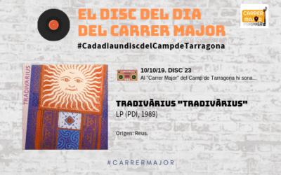 """🔊 El disc del dia del Carrer Major. 23: Tradivàrius """"Tradivàrius"""" (1989)"""