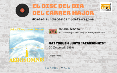 """🔊 El disc del dia del Carrer Major. 30: Mai Toquem Junts """"Aerosomnis"""" (1999)"""