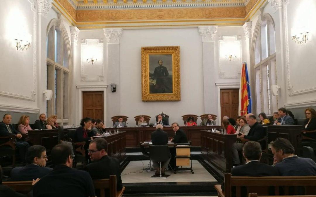 El ple de l'Ajuntament de Reus aprova les ordenances fiscals i el pressupost per al 2020