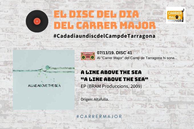 """🔊 El disc del dia del Carrer Major. 41: A line above the sea """"A line above the sea"""" (2009)"""