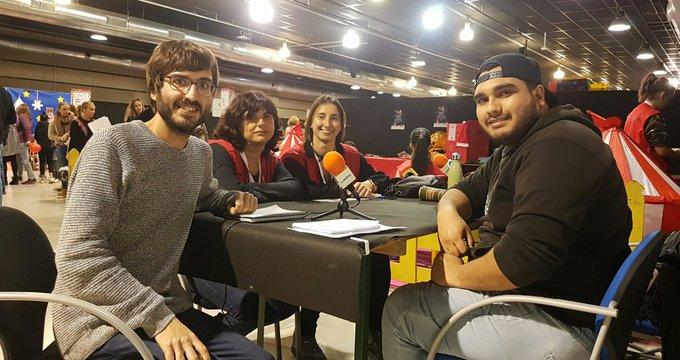 LANOVA Ràdio enregistra dos espais especials des del Parc de Nadal de Reus