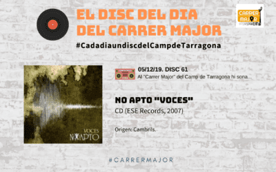 """🔊 El disc del dia del Carrer Major. 61: No apto """"Voces"""" (2007)"""
