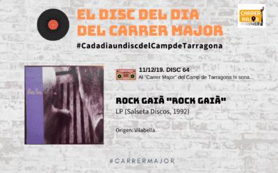 """🔊 El disc del dia del Carrer Major. 64: Rock Gaià """"Rock Gaià"""" (1992)"""