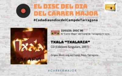 """🔊 El disc del dia del Carrer Major. 86: Txala """"Txalaria"""" (2007)"""