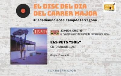 """🔊 El disc del dia del Carrer Major. 88: Els Pets """"Sol"""" (1999)"""