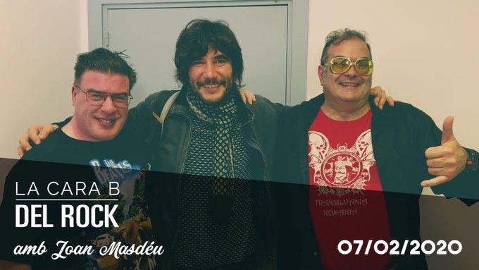 """📽🔊 """"La Cara B del Rock 6×13"""" – 'Entrevista a Joan Masdéu'"""