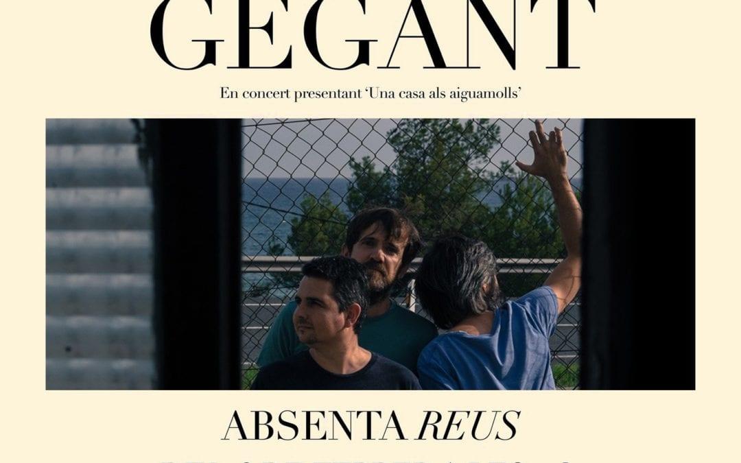 Súper Gegant presenta el segon disc a l'Absenta en un concert en què col·labora LANOVA Ràdio de Reus
