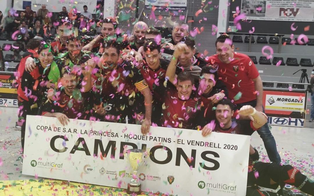🔊 Xoc d'estics 20 – El Vendrell, campió de la Copa de la Princesa 2020