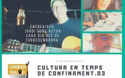 """🔊 Cultura en temps de confinament. 03: """"Parla amb Sopa de Cabra, premsa gratuïta, entrevista a Jordi Suñé i cançó de Santi Balmes"""""""