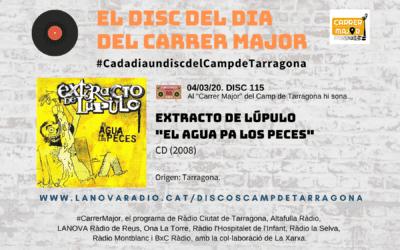 "? El disc del dia del Carrer Major. 115: Extracto de Lúpulo ""El agua pa los peces"" (2008)"