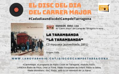 """🔊 El disc del dia del Carrer Major. 114: La Tarambanda """"La Tarambanda"""" (2001)"""