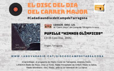 """? El disc del dia del Carrer Major. 121: Pupille """"Himnos olímpicos"""" (2005)"""