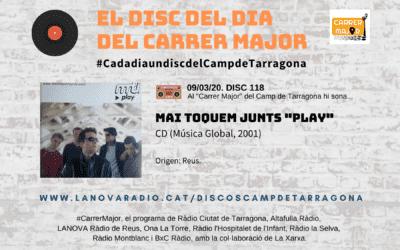 """? El disc del dia del Carrer Major. 118: Mai Toquem Junts """"Play"""" (2001)"""