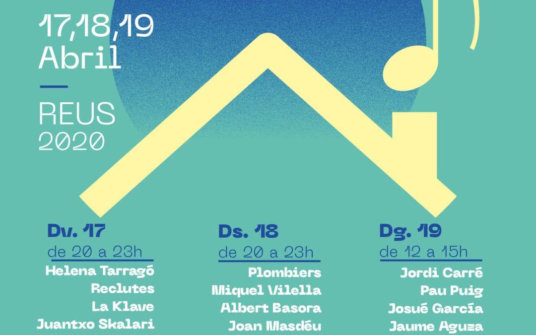 🔊 Trenta artistes de Reus actuaran en un festival de música que l'Ajuntament impulsa per aquest cap de setmana