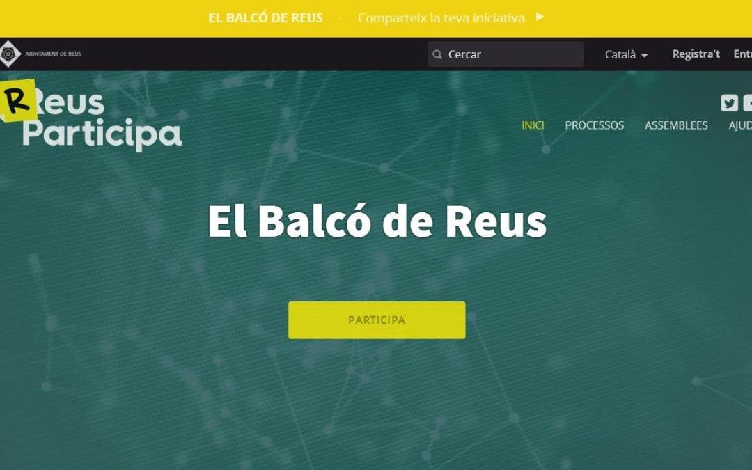 🔊 Un nou espai virtual recull iniciatives ciutadanes de Reus que s'engeguen a títol particular