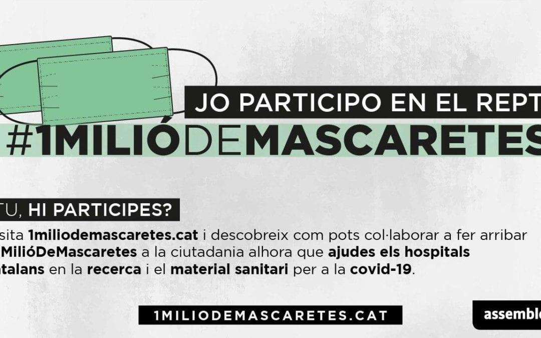 🔊 L'ANC de Reus i de Torredembarra expliquen la campanya #1MiliódeMascaretes