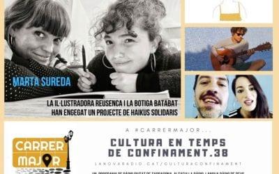 🔊 Cultura en temps de confinament. 38: Alina Ballester, Marta Sureda i el projecte de haikus solidaris del Batabat