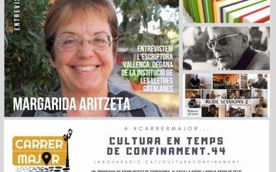 🔊 Cultura en temps de confinament. 44: entrevistem l'escriptora vallenca Margarida Aritzeta i escoltem cançó confinada de Juantxo Skalari