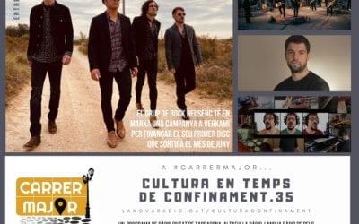🔊 Cultura en temps de confinament. 35: els Stone Vibe obren campanya de micromecentage en ple confinament i Roger Benet presenta cançó des de casa