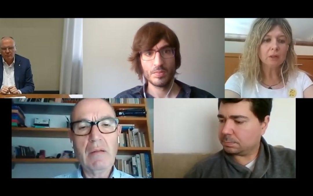"""📽🔊 """"La cua de palla"""" amb Carles Pellicer, Noemí Llauradó i Montse Vilella"""