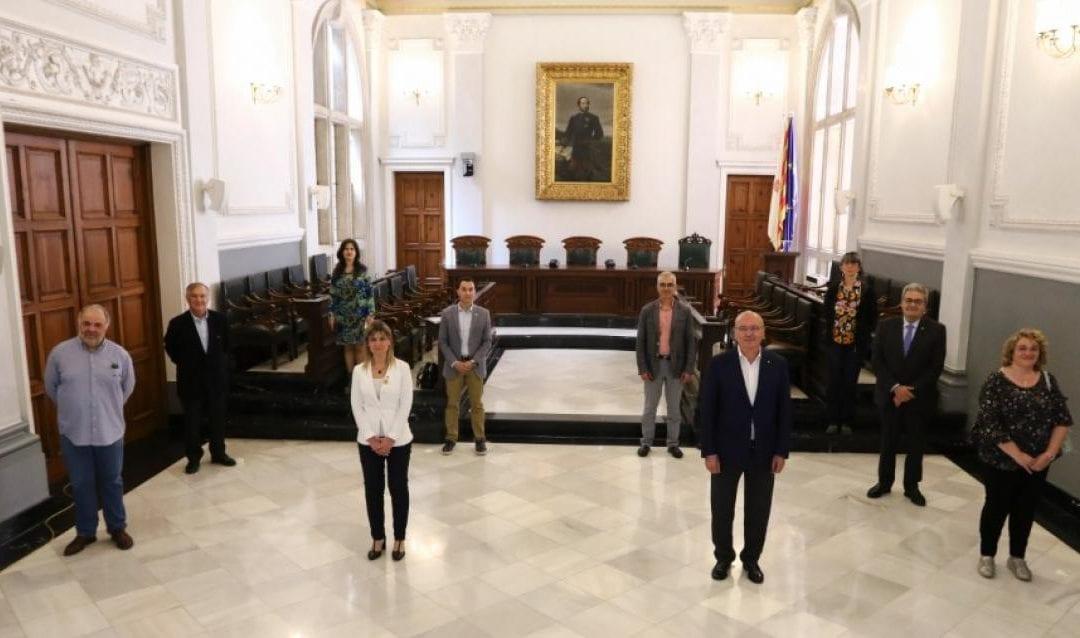 🔊 Govern de Reus, oposició i texit econòmic aproven una injecció econòmica de 4,5 MEUR per fer front a la crisi sanitària
